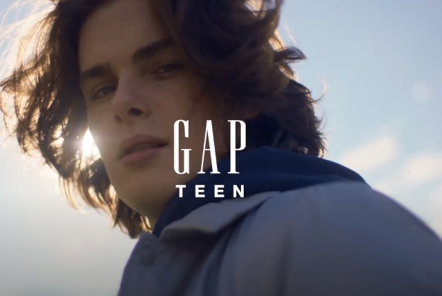 GAP Teen Nxt Gen Gap Anthem Advert Model