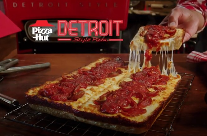 Pizza Hut Detroit-Style Pizza Commercial