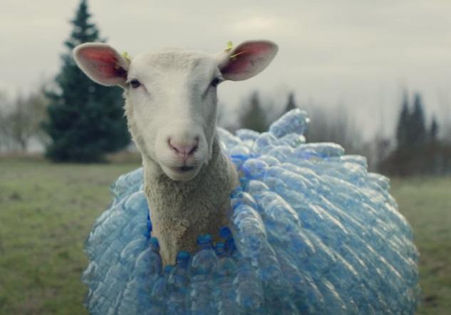 IKEA Plastikflaschen-Schafe Werbung / Commercial