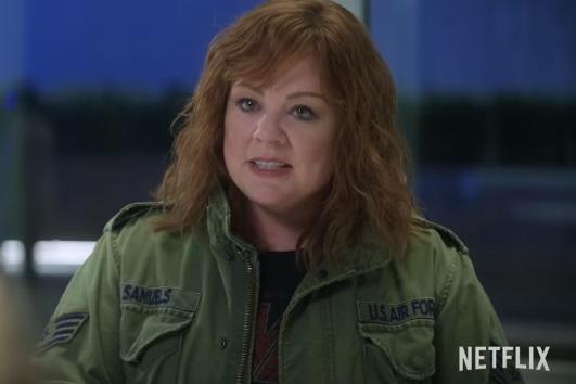 Netflix Movies: Thunder Force - Trailer Actress Melissa McCarthy