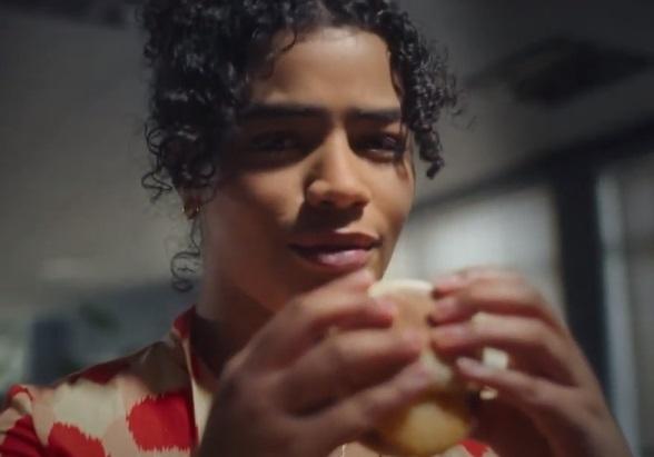 McDonald's Breakfast Curly Girl Advert Actress