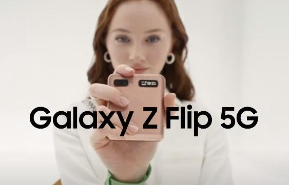 Samsung Galaxy Z Flip 5G Commercial Actress