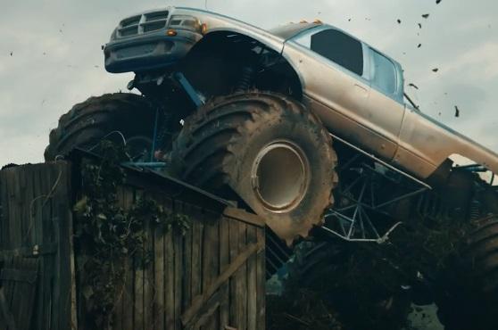 Hornbach Monster Truck Werbung - Schaff Dir Platz