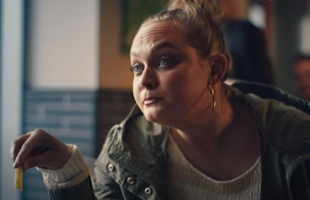 Burger King Advert Actress - It's Not a Secret. It's Real Fire