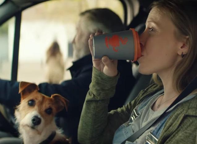 McDonald's McCafé 99p Coffee Advert Dog