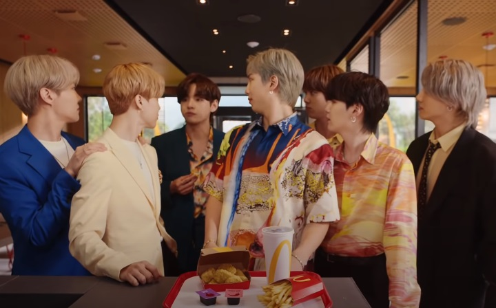 McDonald's BTS Meal Commercial