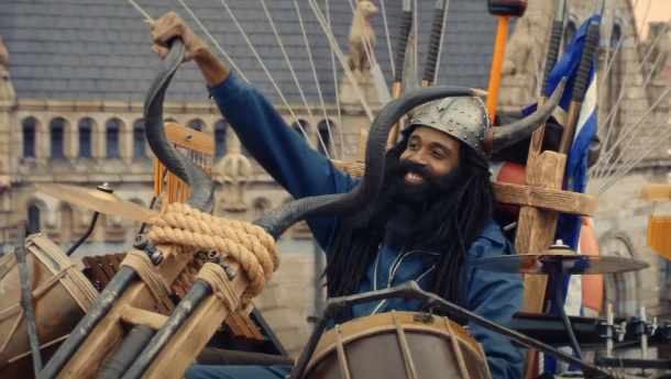 The National Lottery Good Causes Advert Viking Man