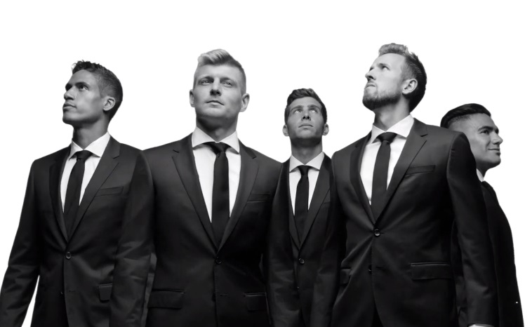 BOSS United Commercial - Toni Kroos, Harry Kane, Raphael Varane, Sergi Roberto & Radamel Falcao