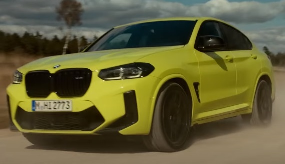BMW X4 M Competition Commercial