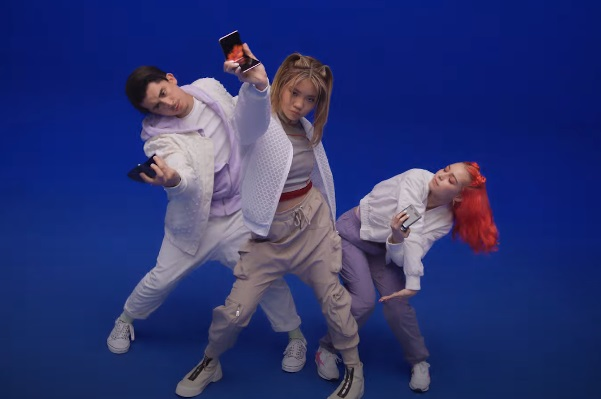 Samsung Galaxy Z Flip 5G Dancers Commercial - Feat. Bailey Sok, Jason Rodelo and Audrey Lane-Partlow
