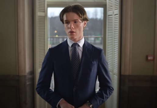 Netflix Series: Young Royals - Trailer Actor Edvin Ryding