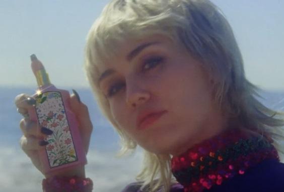GUCCI Flora Gorgeous Gardenia Eau de Parfum Miley Cyrus Commercial
