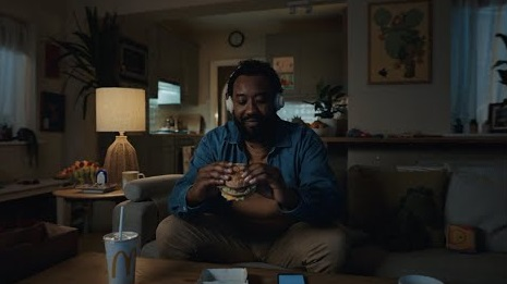 McDonald's UK Fancy Some Me Time Advert Actor