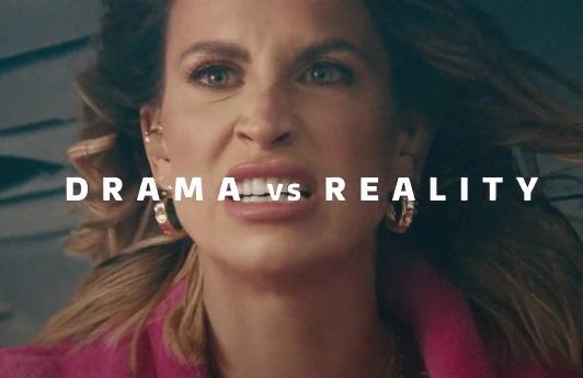 ITV Hub Drama vs. Reality Ferne McCann Advert