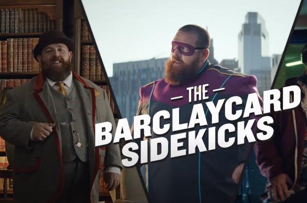 Barclaycard Throwing Stars Advert - Feat. Nick Frost Sidekick