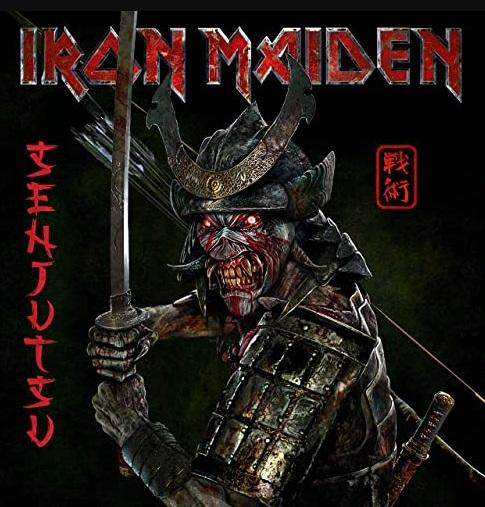 Iron Maiden: Senjutsu - 2021 Album Cover
