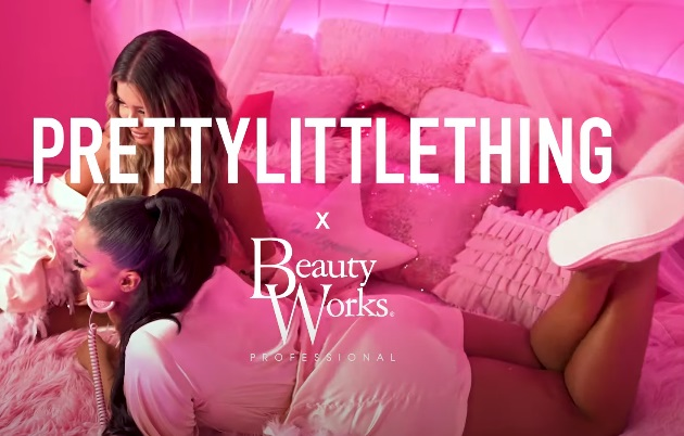 PrettyLittleThing X Beauty Works Convertible Styler Commercial / TV Advert