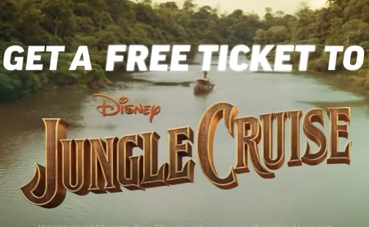 Applebee's Free Ticket to Jungle Cruise Commercial Song