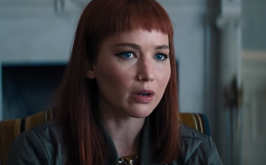 Netflix Movies: DON'T LOOK UP - Trailer Actress Jennifer Lawrence