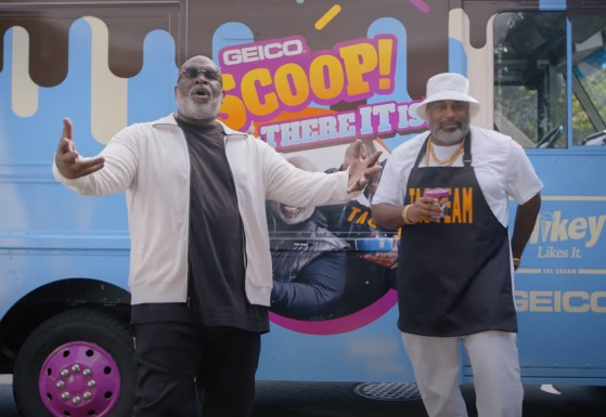 GEICO Scoop! There It Is Ice Cream Sweepstakes Commercial - Feat. Tag Team