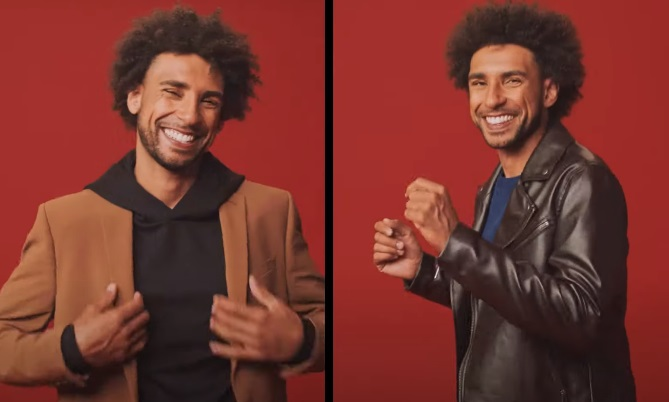 JCPenney Fall Commercial Model