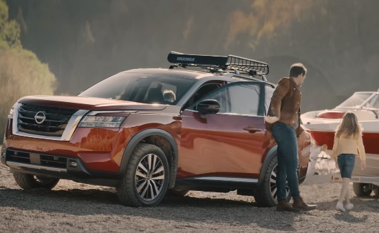 2022 Nissan Pathfinder Family on a Road Trip Boat Commercial Song