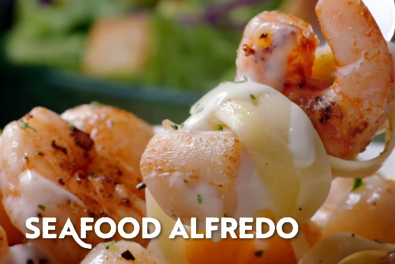 Olive Garden Commercial - Seafood Alfredo