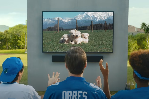 Samsung The Terrace TV Commercial - Friends Watching Football Game at Barbecue Party