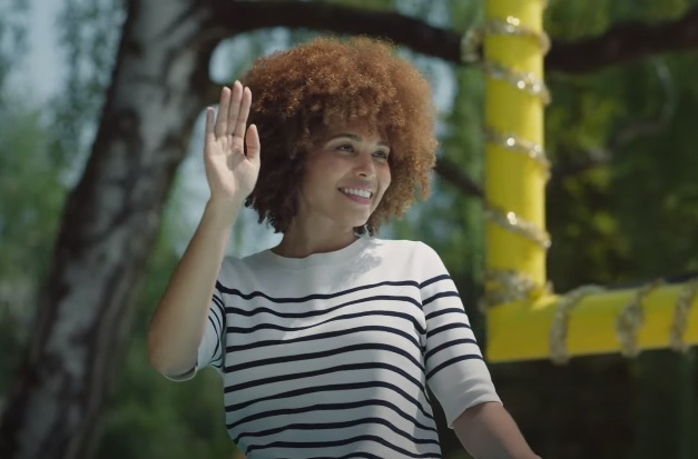 Allstate Allegorical Car Commercial - Curly Girl Actress
