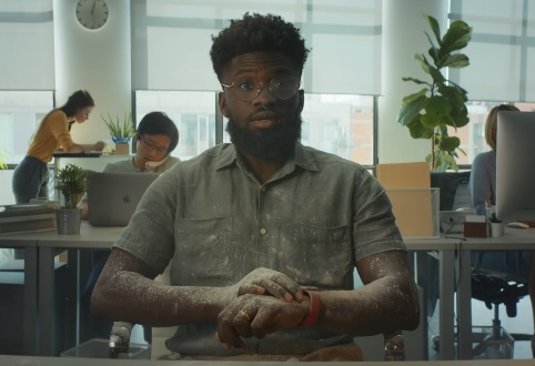 Apple Watch Series 7 Commercial Actor