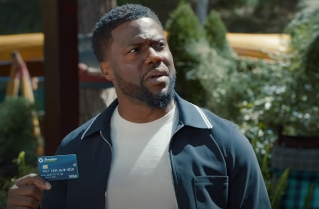 Chase Freedom Unlimited Kevin Hart Commercial