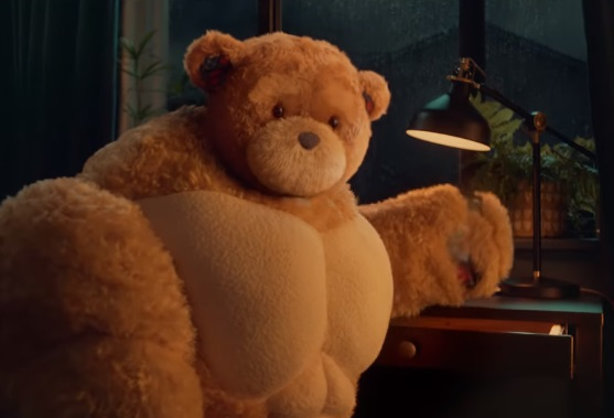 IKEA UK Brawny Teddy Bears Advert
