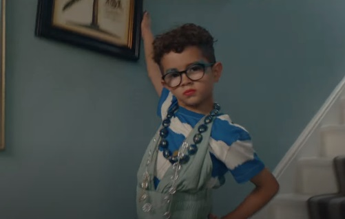 John Lewis Home Insurance Let Life Happen Advert - Feat. Boy Dressed in His Mom's Clothes