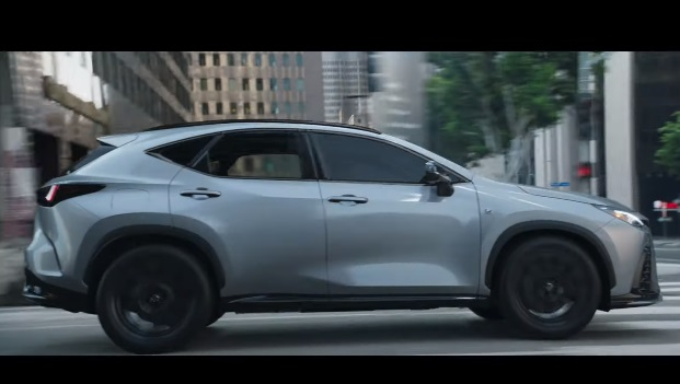 Lexus NX Plug-In Hybrid Eternals Commercial