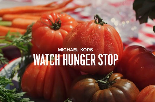 Michael Kors Watch Hunger Stop Commercial