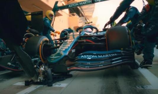 Peroni Aston Martin Formula 1 Commercial / TV Advert