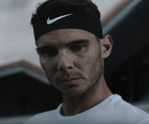 Kia Australian Open Commercial 2017 Rafael Nadal With Stringless Racquet
