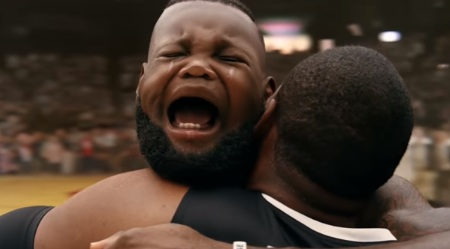 Intel 360 Replay Lebron James With Baby Head Commercial