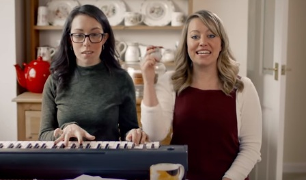 The singing sisters from the Nationwide advert have been ...
