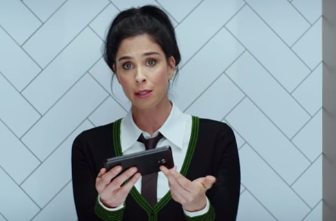 Hulu Sarah Silverman on Toilet Commercial Song - Never